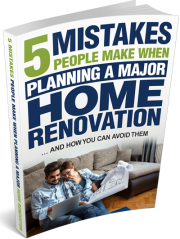 5 mistakes people make when planning major home renovation